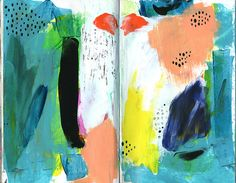 art journal page by ashleyg, via Flickr