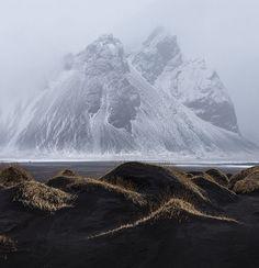 Kambhorn & Vestrahorn - Iceland by Nonac_eos on Flickr | Svava Sparey Yoga Holidays #iceland #travel