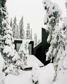 Architect Håkon Matre Aasarød, partner at Oslo-based studio Vardehaugen Architects, led the design of Cabin Vindheim, situated deep in the forest in the alpine landscape near Lillehammer, Norway. Lillehammer, Lodge Look, Off Grid Cabin, Kabine, Living Environment, Prefab Homes, Tiny Homes, Scandinavian Home, House And Home Magazine