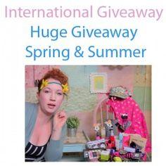 Huge Giveaway Spring & Summer ^_^ http://www.pintalabios.info/en/youtube-giveaways/view/en/215 #International #MakeUp #bbloggers #Giweaway