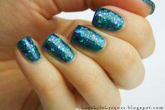 Glitter nail polish - Paradise by Let it Glitter! @ etsy!