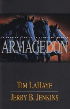 Armagedon = Armageddon (Left Behind) (Spanish Edition) by Tim LaHaye http://www.amazon.com/dp/0789911256/ref=cm_sw_r_pi_dp_mD0Fub14TWSVF