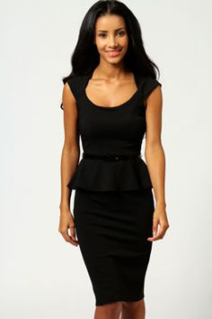 I adore this dress - I have it in electric blue. It's very classy for work