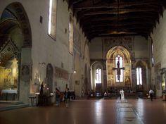 San Francesco Church in Arezzo, Tuscany. End of XI century