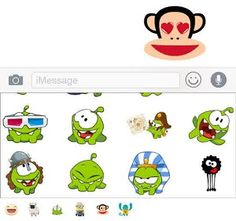 facebook stickers for imessage