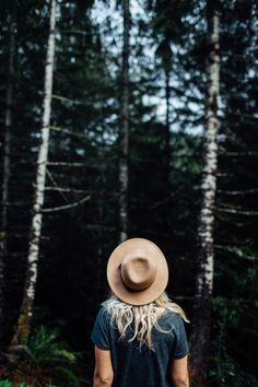 Tan Hat | Evergreens | Portraiture