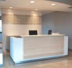 Entry desk for an #office. #commercial                                                                                                                                                                                 More