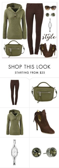 """Untitled #768"" by gallant81 ❤ liked on Polyvore featuring Edc By Esprit, Jimmy Choo, DKNY, Michael Kors and Victoria Beckham"