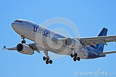 Photo about An Air Transat Airbus C-GUBC photographed on final approach to Toronto Pearson International Airport YYZ. Image of pearson, toronto, photographed - 113813295 Airplane Landing, Air Transat, Personal Image, International Airport, Planes, Toronto, Aircraft, Editorial, Commercial