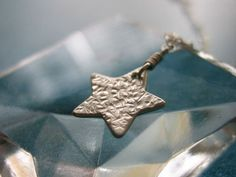 Little Star Sterling Silver Necklace by kikisan on Etsy, $30.00