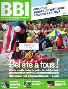 Cet été dans le Boulogne Billancourt Information. Du 1er juillet au 31 août 2013 à Boulogne Billancourt.