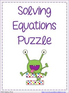 math worksheet : solving equations with variables on both sides activity  solving  : Solving Equations With Decimals Worksheet