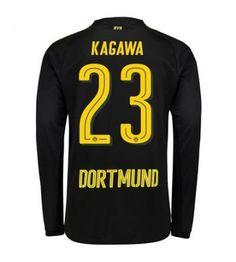 Billiga Dortmund Shinji Kagawa 23 Bortatröja 17-18 Långärmad Shinji Kagawa, Sports, Tops, Fashion, Borussia Dortmund, Hs Sports, Moda, Fashion Styles, Sport