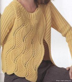 Chaqueta femenina con el patrón de lujo elástico (572x649, 292KB)