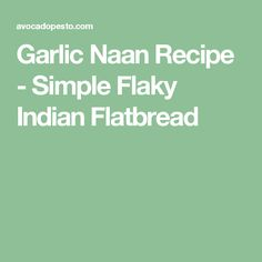 This simple flaky Garlic Naan recipe is the perfect Indian flatbread to eat with any of your personal favorite Indian dishes. Fried Fish Recipes, Veggie Recipes, Indian Food Recipes, Cooking Recipes, Bread Recipes, Savoury Recipes, Savoury Dishes, Curry Recipes, Asian Recipes