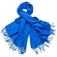 Etole bleu vif en laine - Etole/Etole laine - Mes Echarpes
