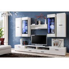 Modern tv wall unit white entertainment center 1 modern built in tv wall unit designs for