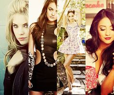 I want Hanna's hair, Aria's dress, Spencer's body, Emily's makeup.