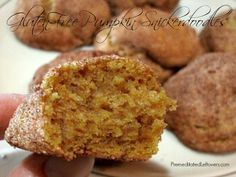 Gluten-Free Pumpkin Snickerdoodle Cookie Recipe