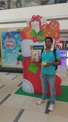 Mr Ram turned Santa this Christmas! #InorbitMakesMeSmile