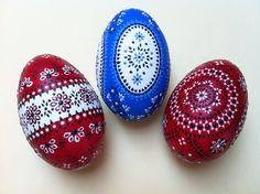 Sorbische Ostereier - GänseEier / Sorbian Easter Eggs - GooseEggs