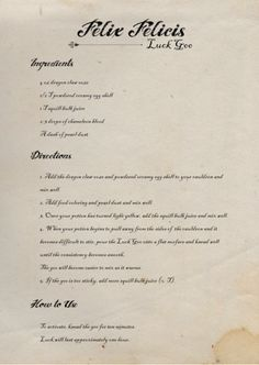 A Harry Potter potions class is the perfect activity for every Harry Potter party. Luck Goo potion printables come with a recipe, ingredient labels and Harry Potter Potion Ingredients, Harry Potter Potion Labels, Harry Potter Spell Book, Harry Potter Classes, Harry Potter Notebook, Hogwarts Classes, Harry Potter Journal, Harry Potter Book Covers, Harry Potter Props
