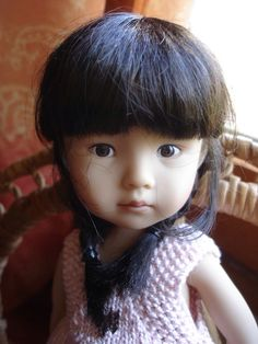 Poupée Boneka thursday child Dianna Effner This one reminds me of Missy when she was little.