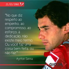 Ayrton Senna, o orgulho de todos os brasileiros, estaria completando 54 anos no dia 21/03/2014.