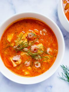 Bouillabaisse, Soup Recipes, Healthy Recipes, Cream Soup, Recipe Boards, French Kitchen, Spanish Food, Fish And Seafood, Chowder