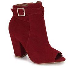 Summer Boots Feminina Lara - Vinho