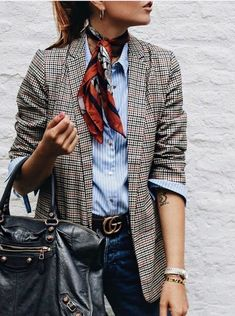 Check Plaid Blazer / Street style fashion / fashion week # The Effective Pictures We Offer You About Blazer Outfit schick A quality picture can tell you many things. You can find Moda Outfits, Blazer Outfits, Casual Outfits, Fashion Outfits, Blazer Dress, Dress Outfits, Blazer Fashion, Plaid Fashion, Maxi Dresses
