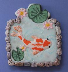 Creative Cookie Contest: Koi Pond