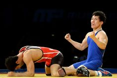 Rio 2016: Olympic Wrestling Men's Freestyle 57kg and 74kg.