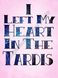 I Left My Heart In The TARDIS
