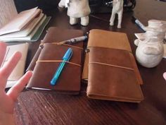 How the issue with the Midori Camel passport traveler's notebook was solved