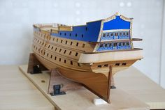 The Construction Of The San Felipe 1690 Spanish Galleon, Model Ship Building, Spanish Armada, Hms Victory, Bottom Of The Ocean, Make A Boat, Types Of Painting, Wooden Boats, Model Ships