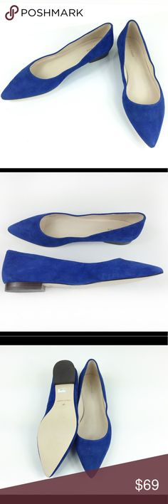 COLE HAAN SUEDE ROYAL BLUE FLATS COLE HAAN SUEDE ROYAL BLUE FLATS in size 8 and 10. Brand new, no box, absolutely flawless and divine! Perfect for spring, cute royal blue color, true to pics. Made made with real leather suede. 100% authentic. Make an offer! I probably won't put these on sale so do your offer directly, I love to negotiate! ❤️ Cole Haan Shoes Flats & Loafers