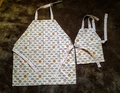 Mommy and Me Matching Aprons - Pies by GrandmaSewsBest on Etsy