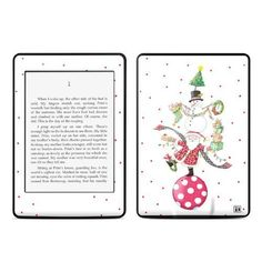 Christmas Circus Design Protective Decal Skin Sticker for Amazon Kindle Paperwhite eBook Reader (2-point Multi-touch) by MyGift. $16.99. Give your Amazon Kindle Paperwhite eBook Reader (2-point Multi-touch, Release in Oct 2012) stunning style and practical protection with this amazing decal skin sticker. With a vivid, digitally printed, art-quality design decorating the outside of this protective skin decal and a durable layer of cast vinyl and clear laminate protecti...