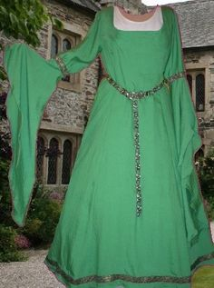 Early Medieval Gown SCA Garb Arwen Renaissance by camelots0closet, $65.00