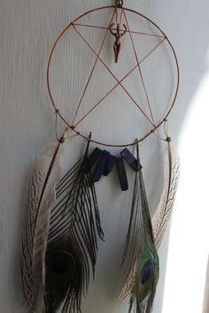 Great Goddess Dreamcatcher & Positive Emanation Creation by ElvenWay on Etsy- for divine love, protection, unity, priestess flow in your home*** empowered with Reiki energy :)