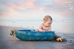 beach baby! 6 month photos