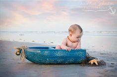 My beach baby! 6 month photos