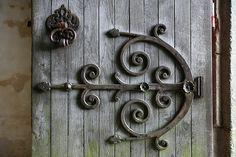 Doors & Tables: Using Old Doors for Desks Glass Door Hinges, Inset Hinges, Antique Hinges, Window Hinges, Strap Hinges, Door Knobs, Cool Doors, Unique Doors, Shutter Hinges