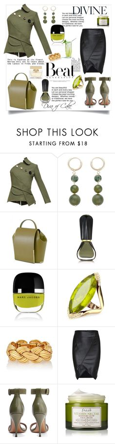 """""""Untitled #300"""" by kercey ❤ liked on Polyvore featuring A.W.A.K.E., Onesixone, Oribe, Marc Jacobs, Forzieri, Givenchy, Fresh and Dolce&Gabbana"""