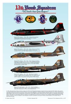 Martin Canberra of the Bomb Squadron. Us Air Force, Royal Air Force, Military Jets, Military Aircraft, English Electric Canberra, Camouflage, First Indochina War, Aircraft Painting, Ww2 Aircraft