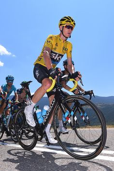 #TDF2016 103rd Tour de France 2016 / Stage 9 Christopher FROOME Yellow Leader Jersey / Vincenzo NIBALI / Vielha Val d'Aran Andorra Arcalis 2240m/ TDF /