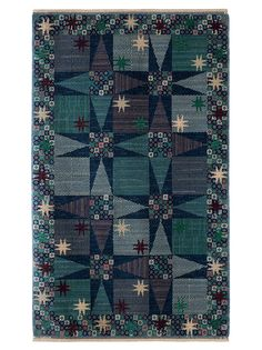 Märta Måås-Fjetterström creates some of the finest rugs and tapestries in the world, handwoven at the studio in Båstad, Sweden by artisan weavers since Bauhaus Textiles, Rya Rug, Animal Rug, Handmade Rugs, Handmade Crafts, Handmade Headbands, Swedish Design, Handmade Journals, Cool Rugs