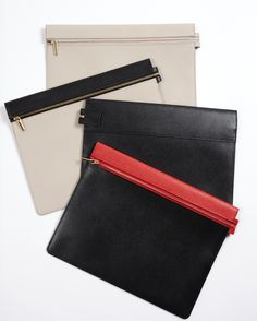 First collection of leather goods