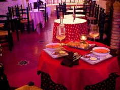 Cena en el Templo del Flamenco/Dinner in the Flamenco Temple  #Flamenco #Dinner